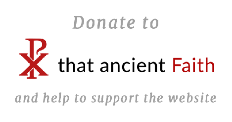 Support That Ancient Faith