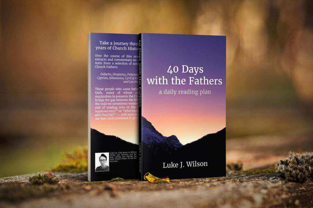 Header Image for: 40 Days with the Fathers: Source Texts Companion Book