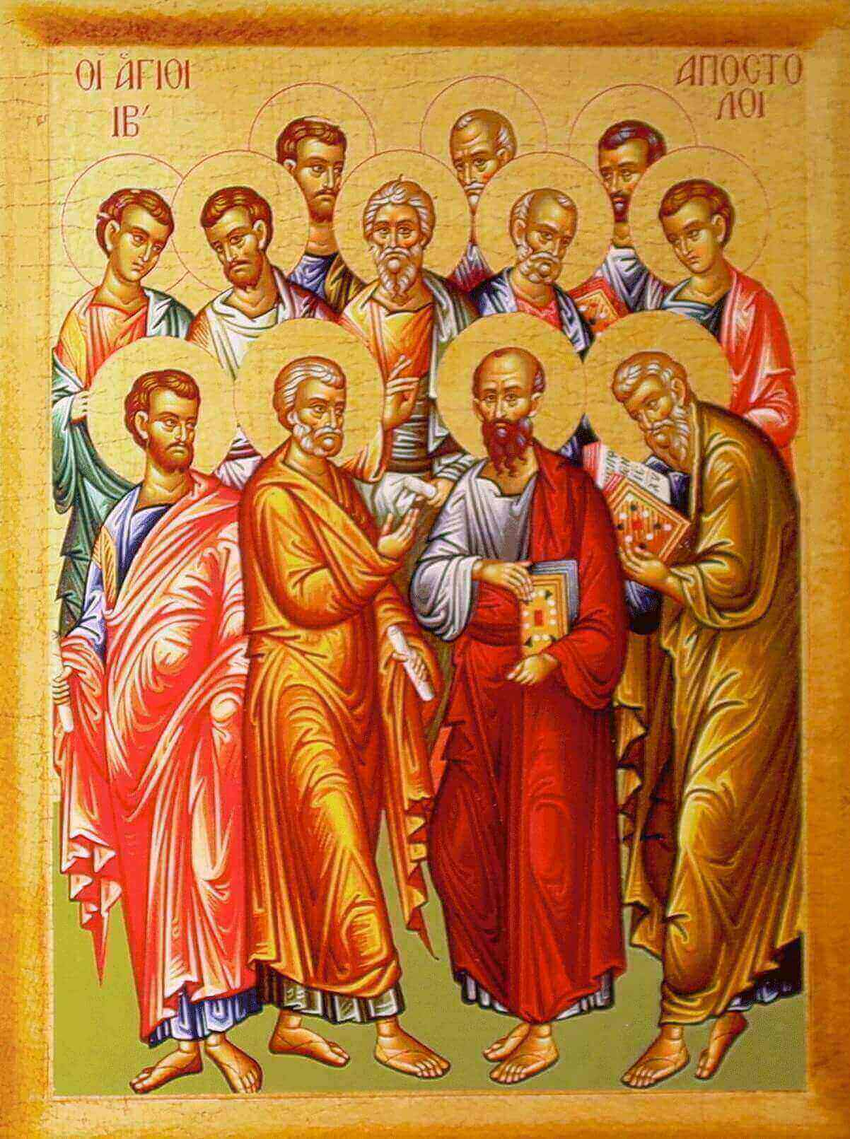 How many apostles are there in the New Testament?