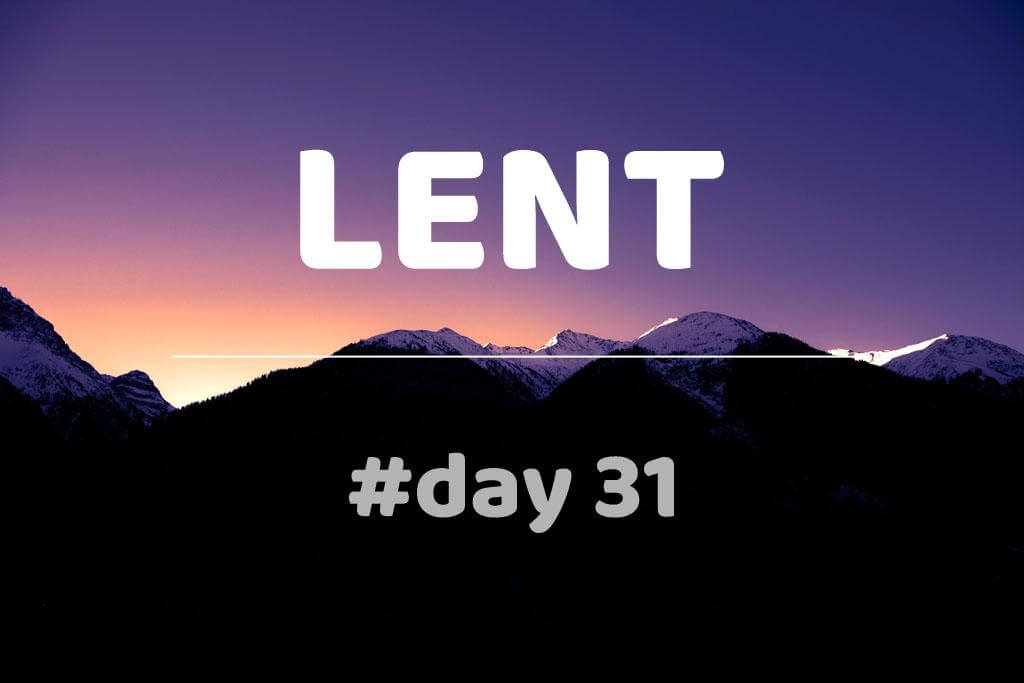 Lent Day 31: Cyril of Jerusalem: Catechetical Lectures: Lecture XX